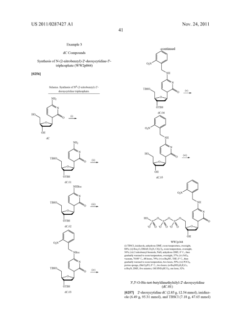 small resolution of  nucleotides and nucleosides base modified with labels and photocleavable terminating groups and methods for their use in dna sequencing diagram