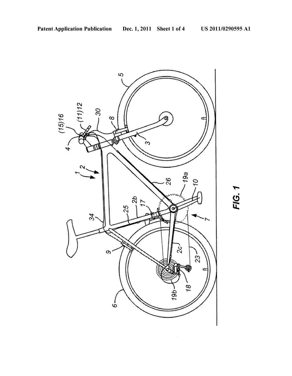 hight resolution of reversible hydraulic caliper brake for a bicycle diagram schematic and image 02