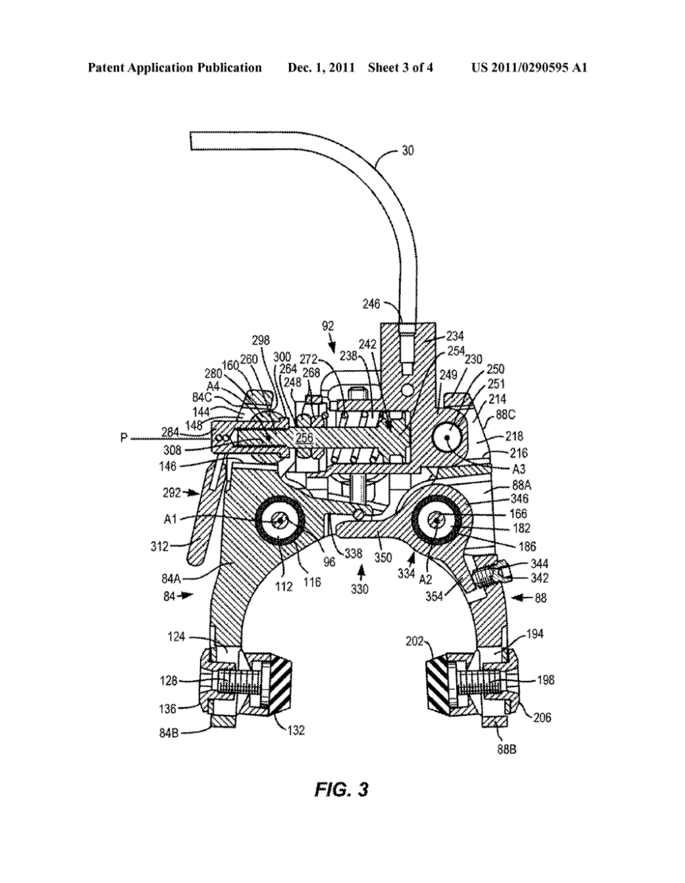 medium resolution of reversible hydraulic caliper brake for a bicycle diagram schematic and image 04