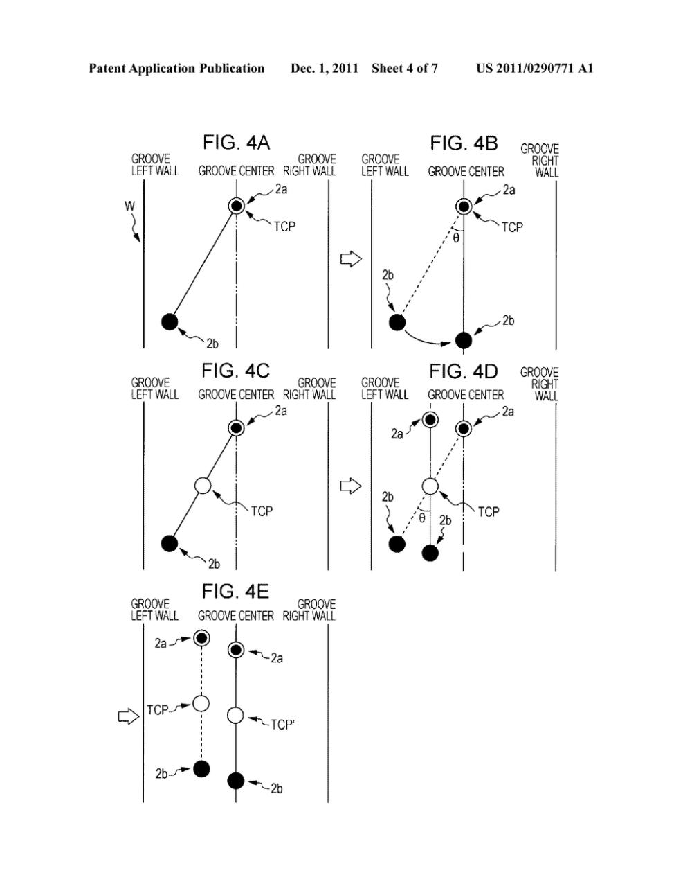 medium resolution of electrode position control method for tandem arc welding robot controller for tandem arc welding system and tandem arc welding system diagram schematic