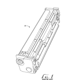laser printer cartridge with increased toner storage capacity diagram schematic and image 02 [ 1024 x 1320 Pixel ]