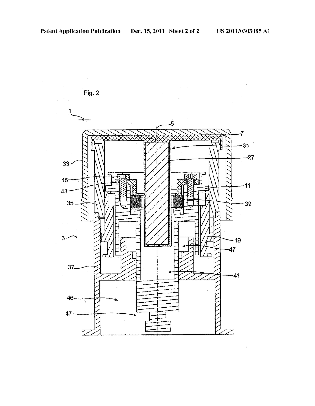 hight resolution of piston cylinder assembly having integrated measuring device diagram schematic and image 03