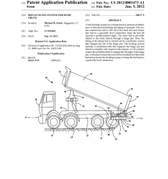 bed leveling system for dump truck diagram schematic and image 01 rh patentsencyclopedia com dump bed switch dump bed trailer [ 1024 x 1320 Pixel ]