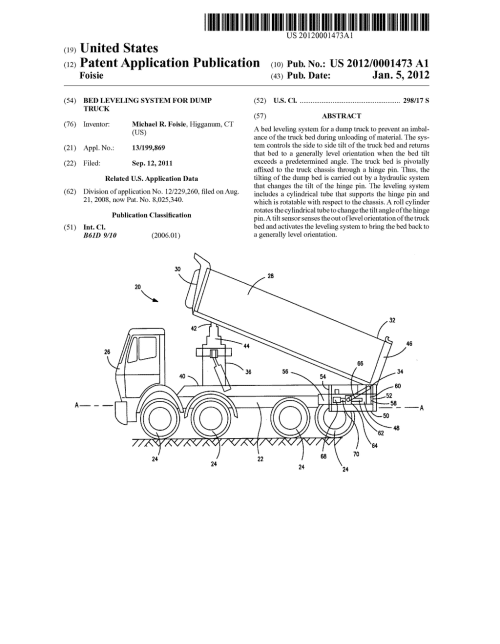 small resolution of bed leveling system for dump truck diagram schematic and image 01 rh patentsencyclopedia com dump bed switch dump bed trailer