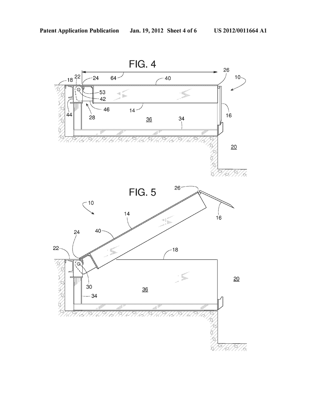 hight resolution of curved transition plates for pivotal dock leveler decks diagram schematic and image 05