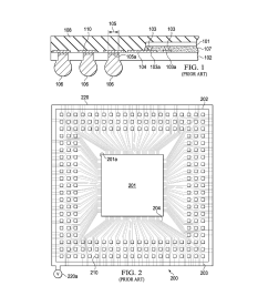 bga package with traces for plating pads under the chip diagram schematic and image 02 [ 1024 x 1320 Pixel ]