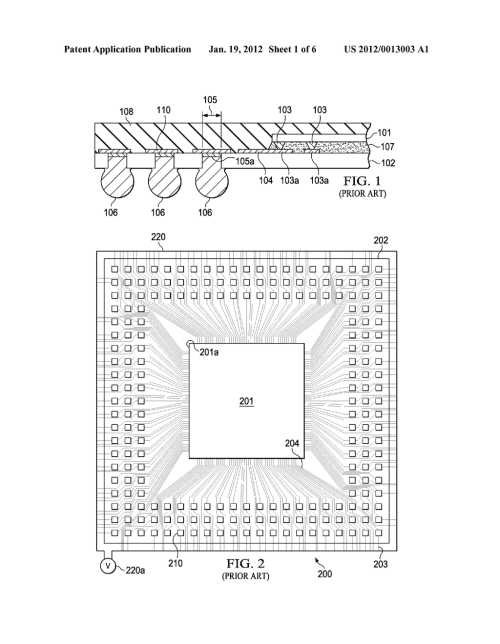 small resolution of bga package with traces for plating pads under the chip diagram schematic and image 02