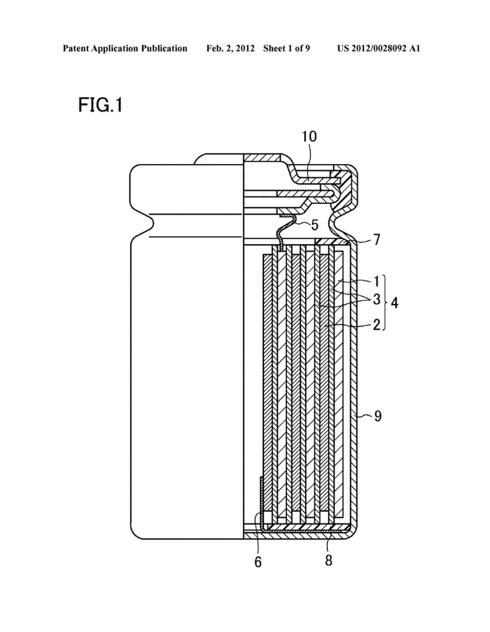 medium resolution of aa lithium primary battery and aaa lithium primary battery diagram schematic and image 02