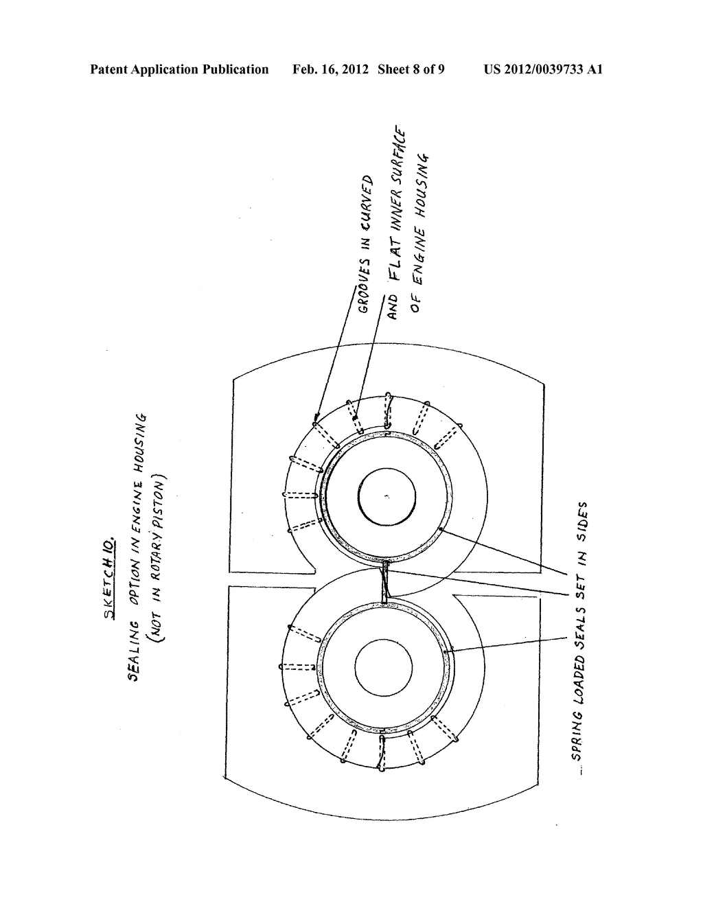 hight resolution of rotary piston steam engine with balanced rotary variable inlet cut off valve and secondary expansion without back pressure on primary expansion diagram