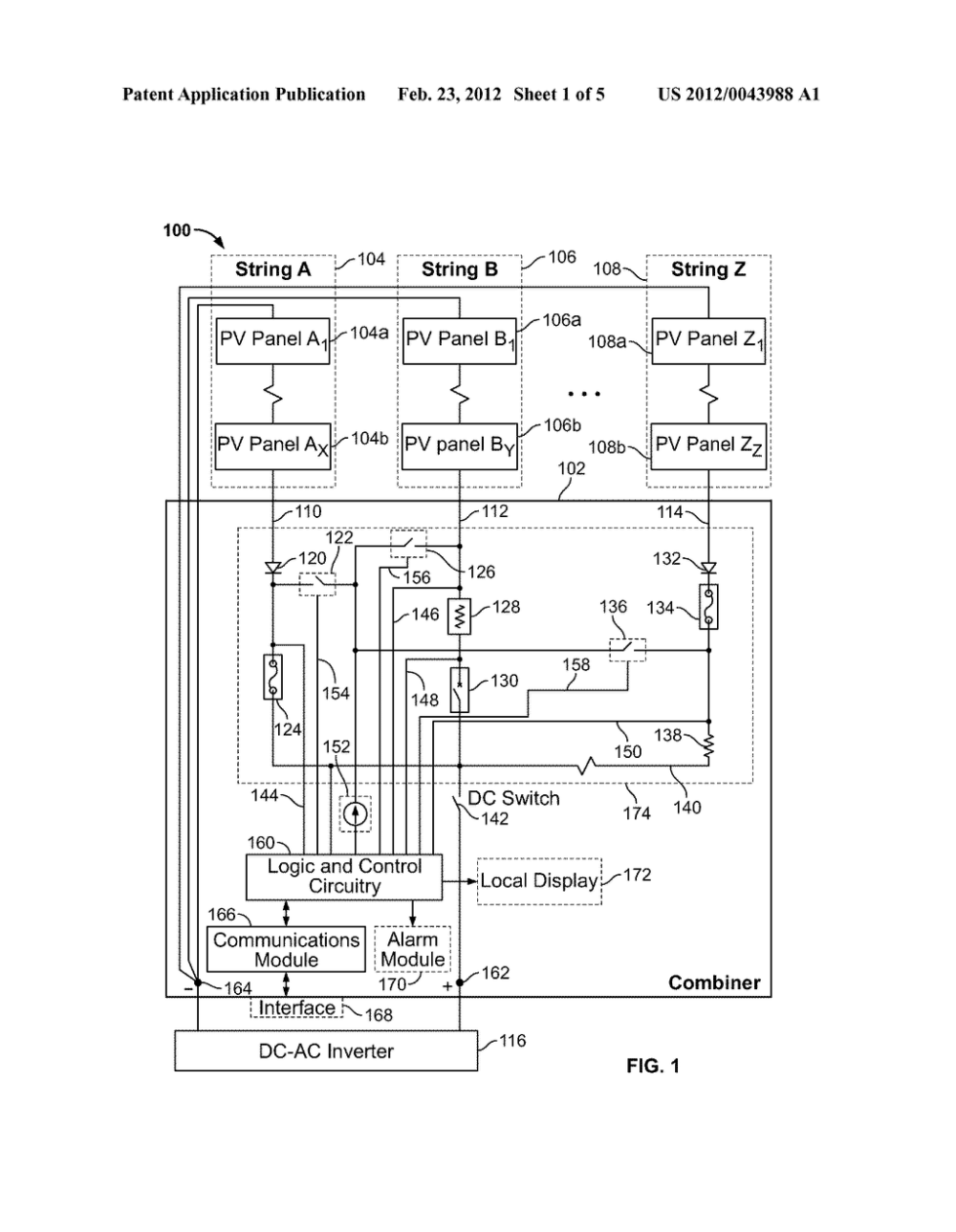 medium resolution of solar combiner with integrated string current monitoring diagramsolar combiner schematics 12