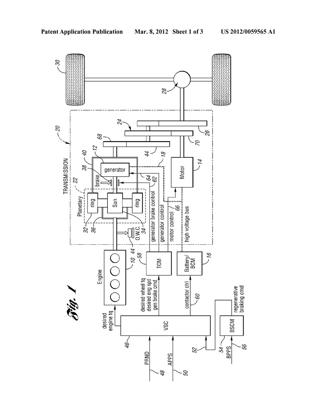 Powertrain Engine Diagram