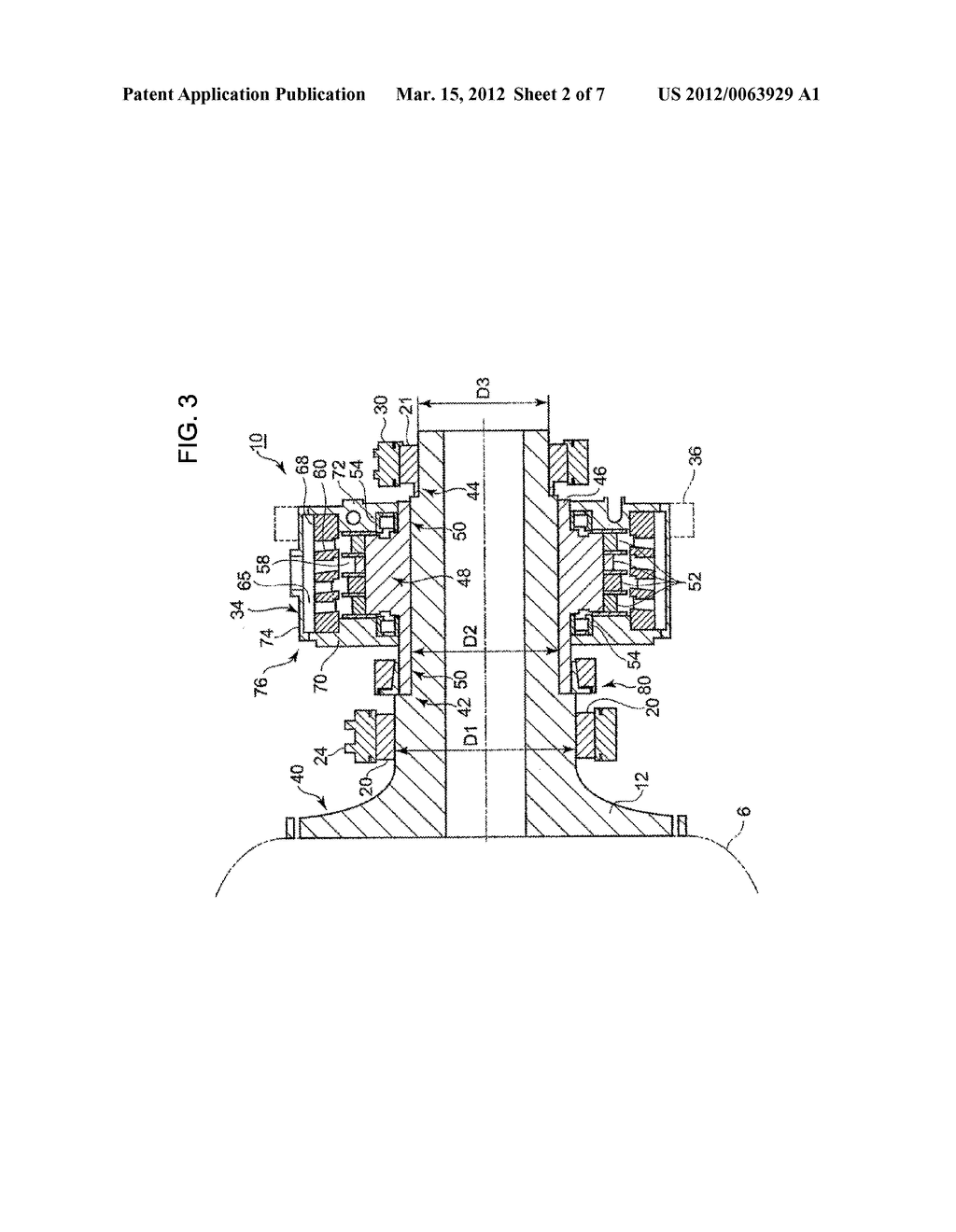 hight resolution of hydraulic pump structure for wind turbine generator or tidal current generator and method of mounting hydraulic pump diagram schematic and image 03