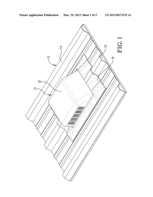 small resolution of flexible based roof vent for metal roofing diagram schematic and image 02