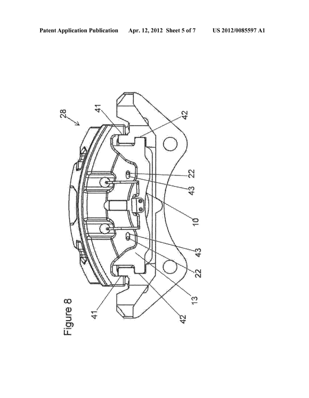 medium resolution of caliper assembly for disc brake system diagram schematic and image 06