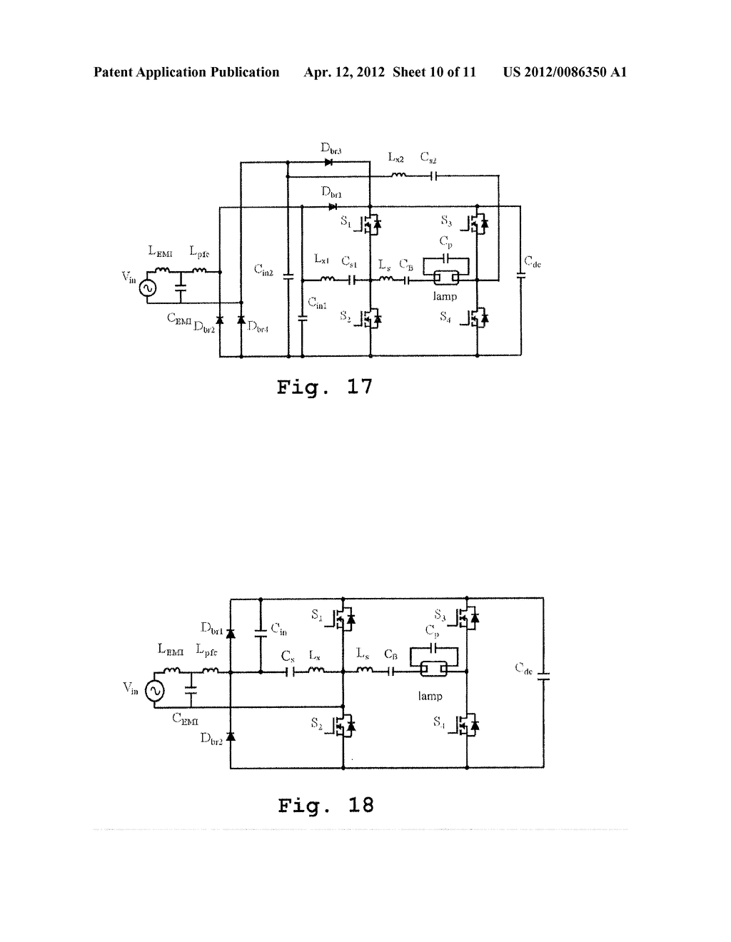 hight resolution of full bridge electronic ballast having simplified continuous conduction mode charge pump pfc circuit diagram schematic and image 11