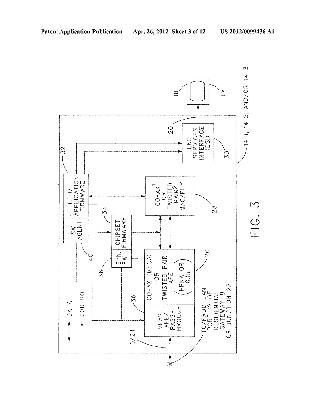 hight resolution of integrated ethernet over coaxial cable stb and physical layer test and monitoring diagram schematic and image 04