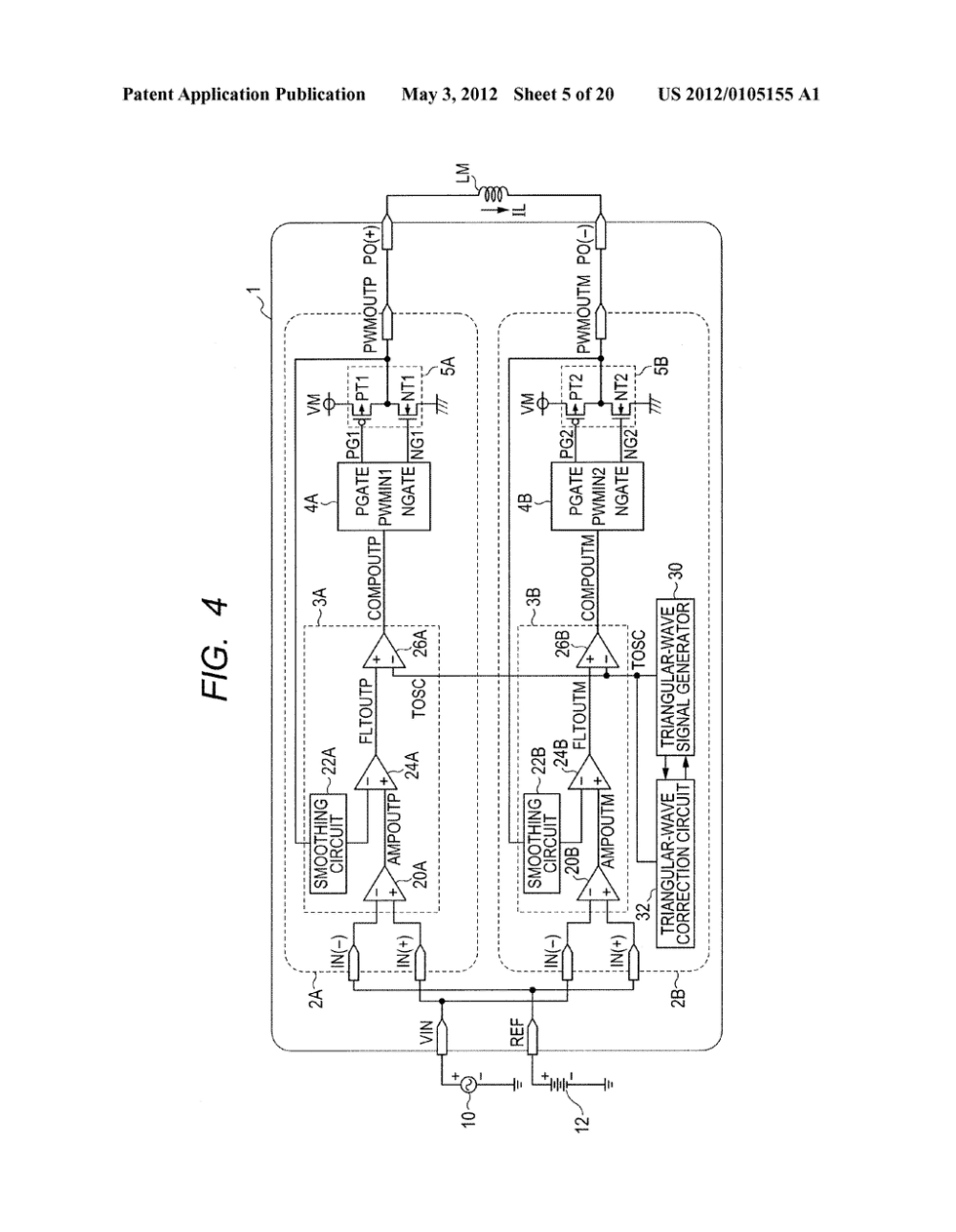 medium resolution of pulse width modulation circuit and voltage feedback class d amplifier circuit diagram schematic and image 06