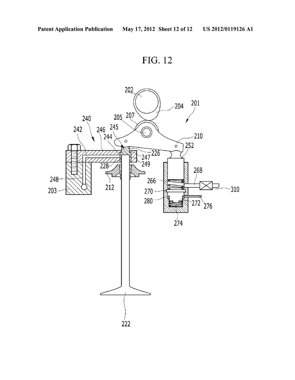 hight resolution of electro hydraulic valve train diagram schematic and image 13 rh patentsencyclopedia com overhead valve engine diagram