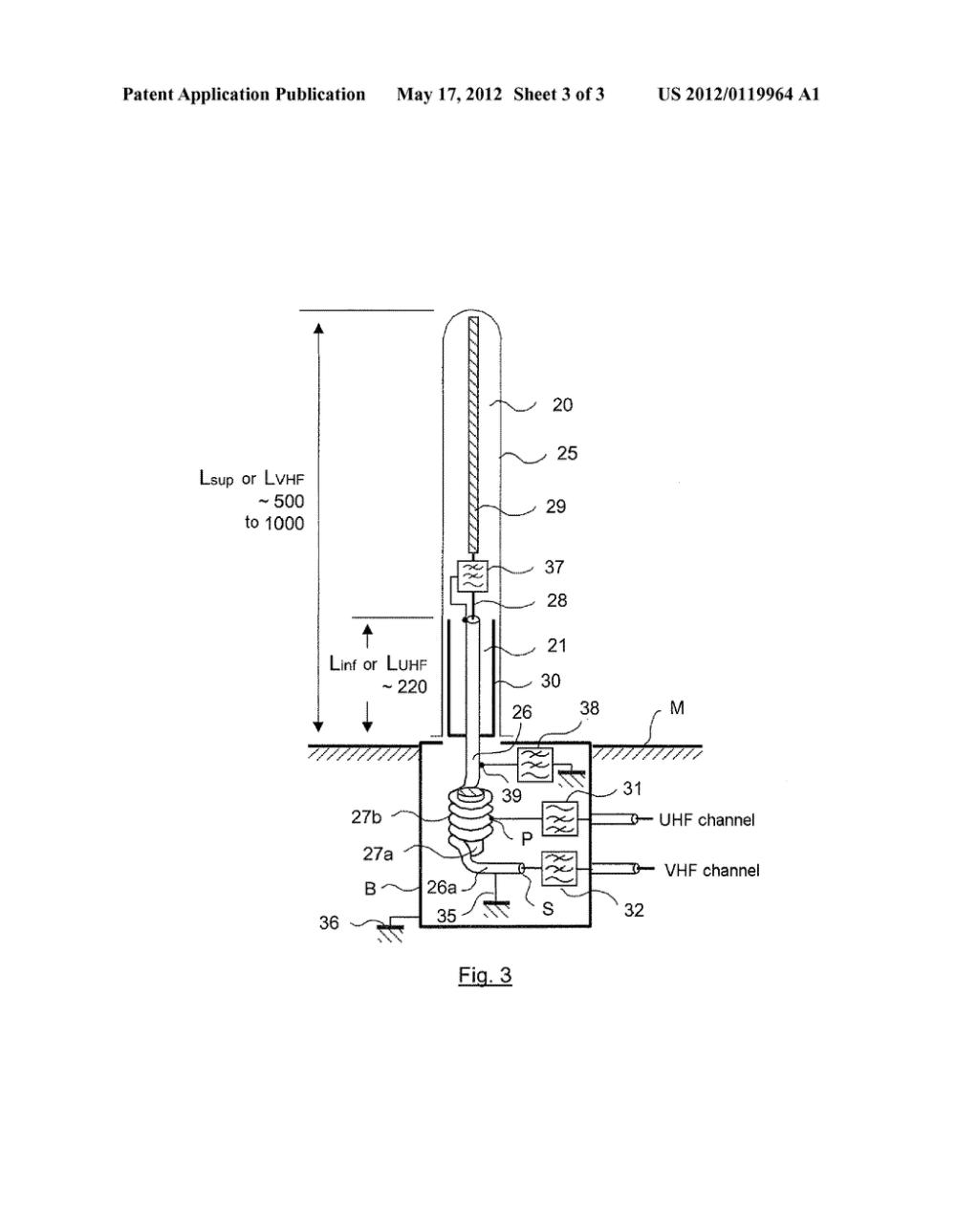 medium resolution of vhf uhf broadband dual channel antenna diagram schematic and image 04