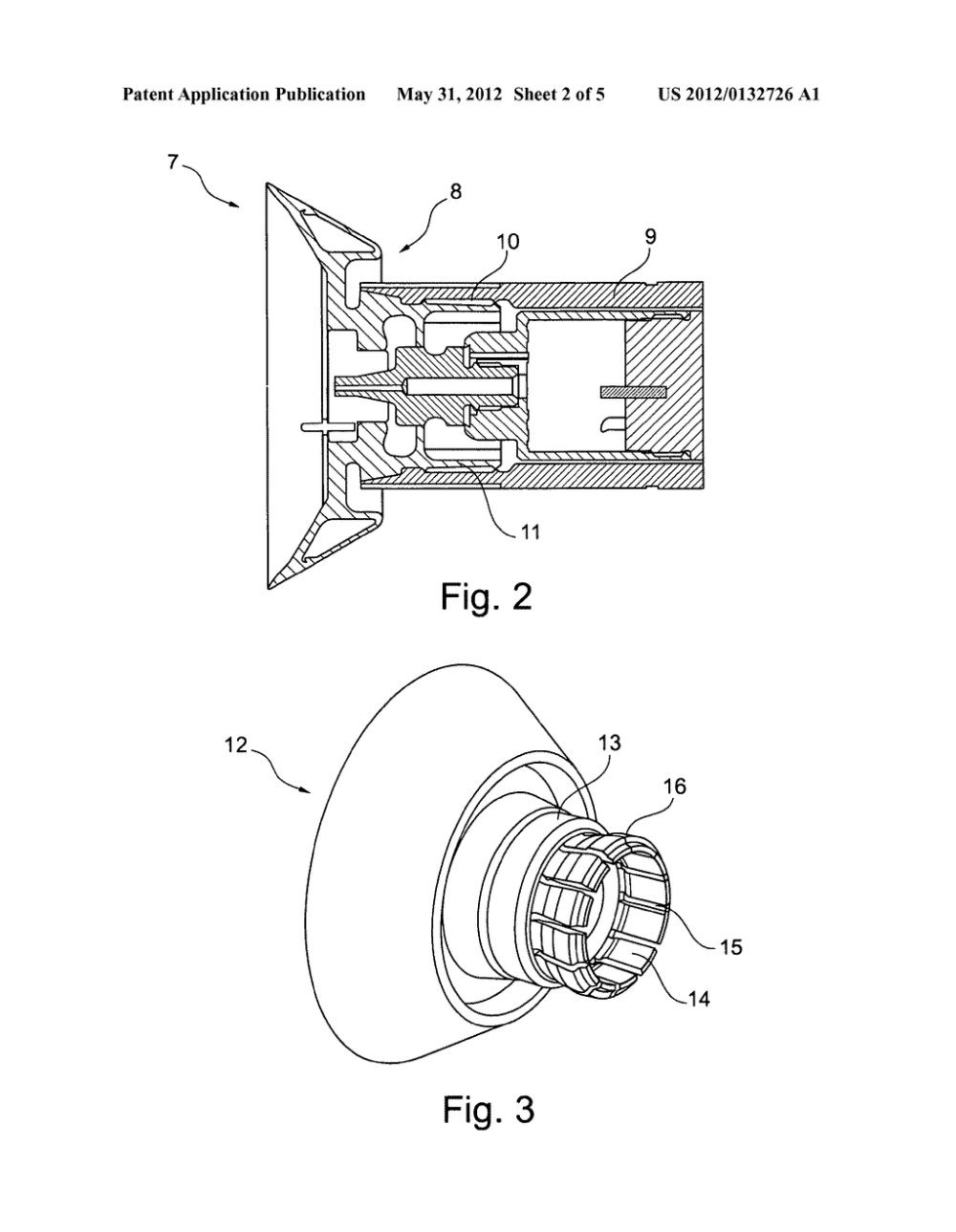 medium resolution of rotary atomizer comprising an atomizer bell and a retainer diagram schematic and image 03