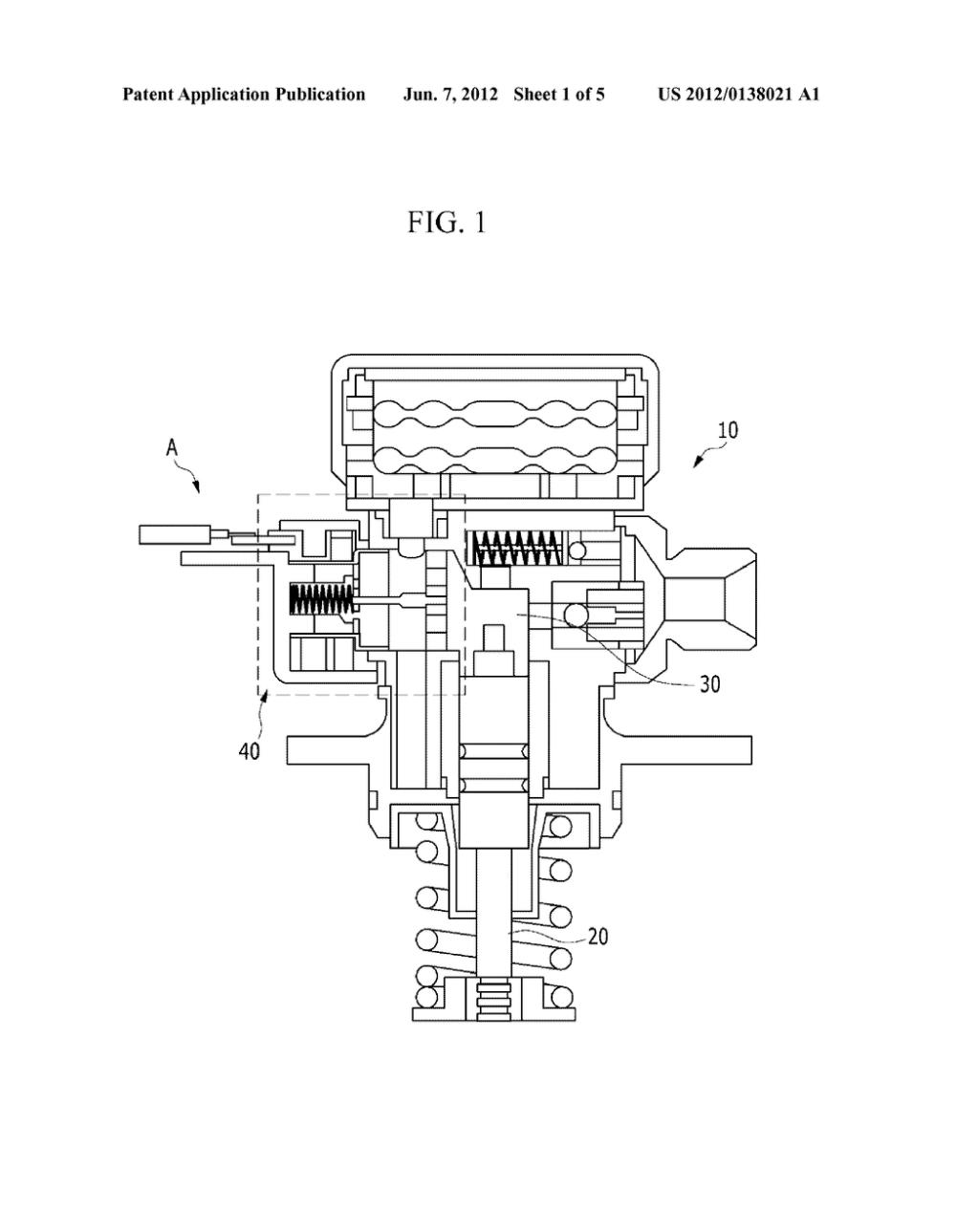 medium resolution of solenoid valve control method and high pressure fuel pump of gdi engine diagram schematic and image 02