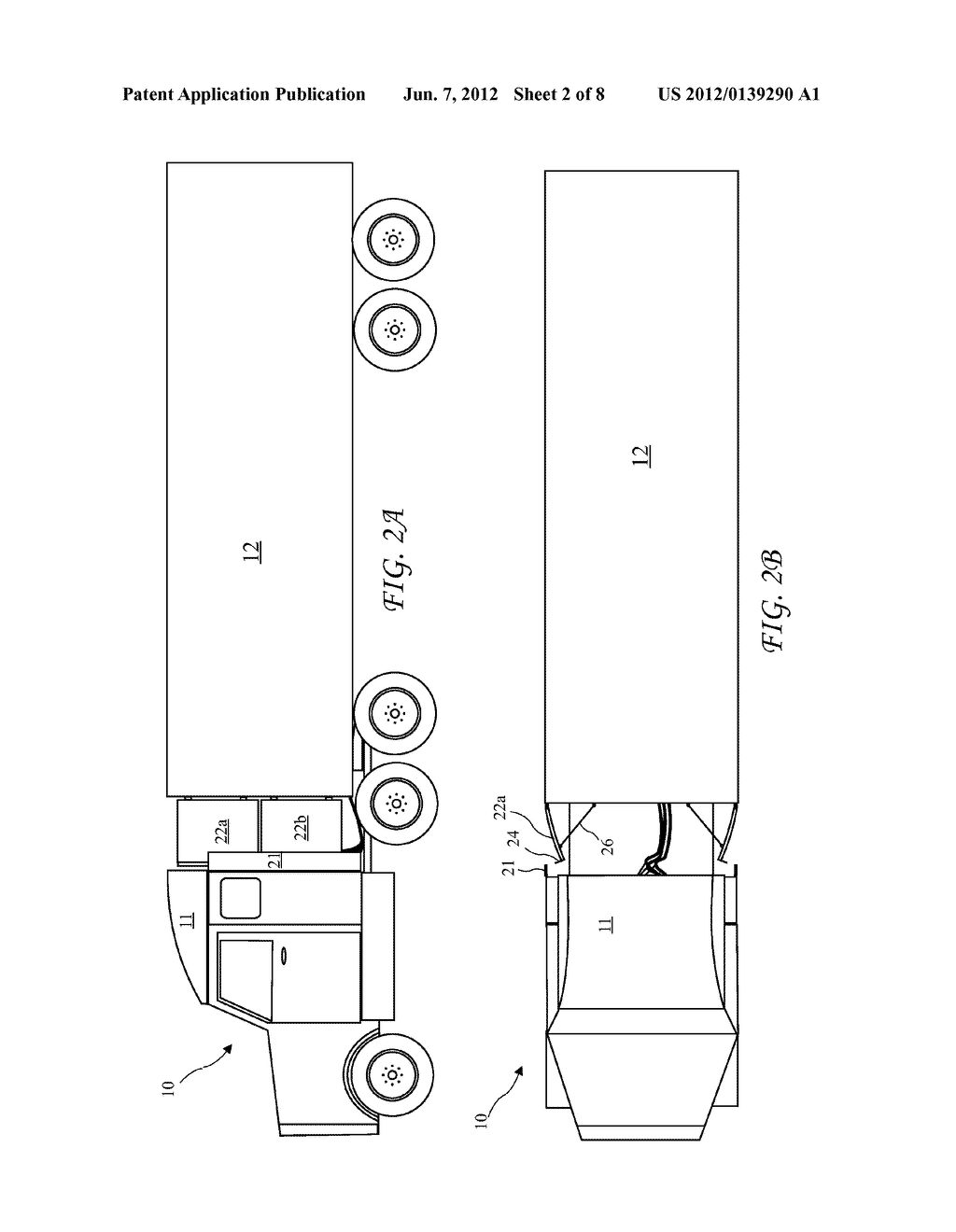 Air Diagram For Tractor Trailer Rig, Air, Free Engine