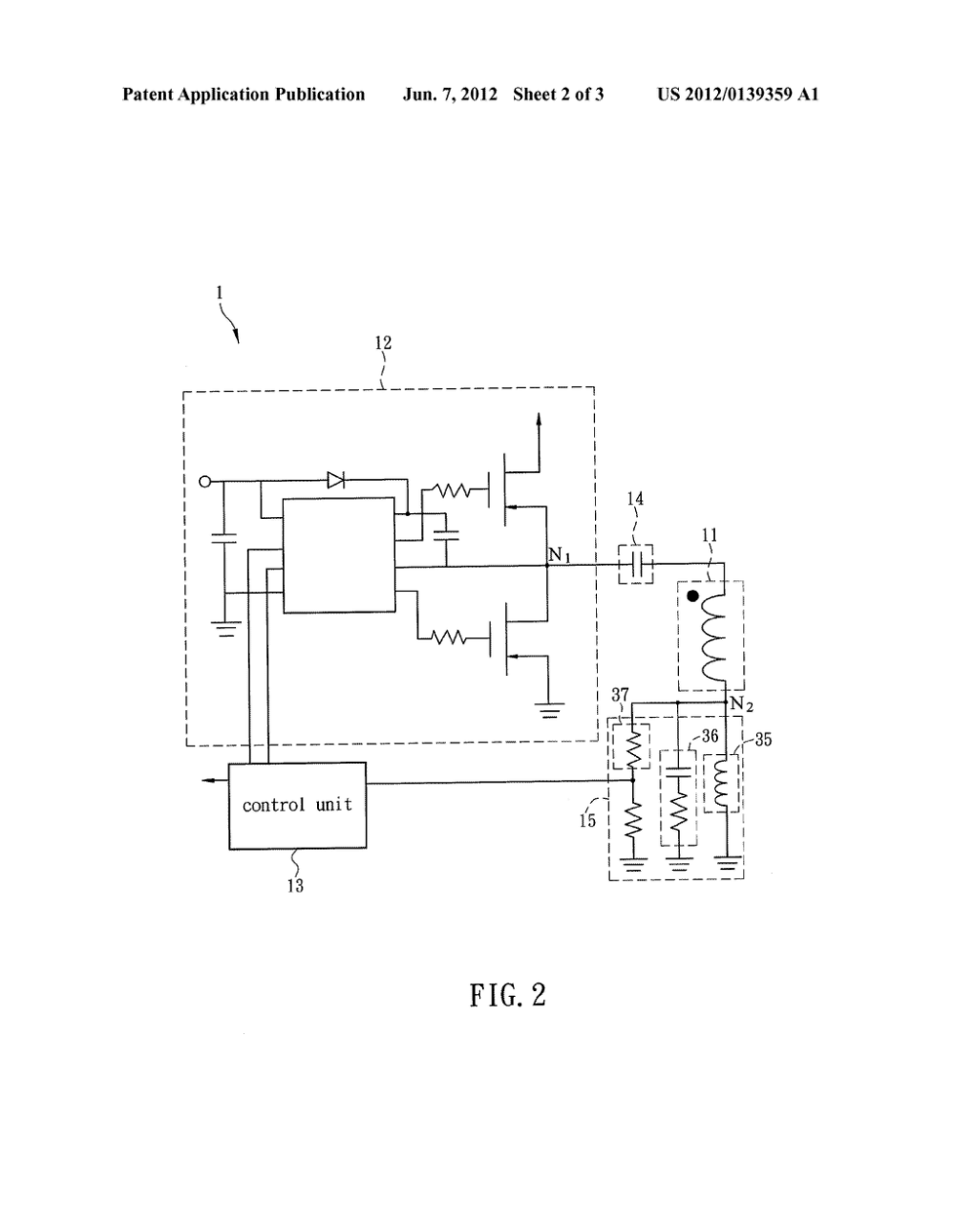 medium resolution of wireless charging system and transmitting end circuit thereof diagram schematic and image 03