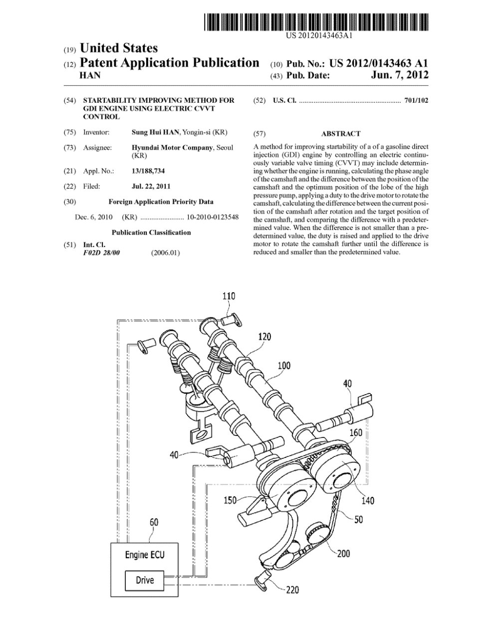 medium resolution of startability improving method for gdi engine using electric cvvt control diagram schematic and image 01