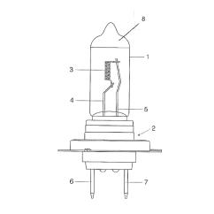 Led Halogen Bulb Diagram American Standard Shower Valve Lamp Simple Ge Wbx From Part