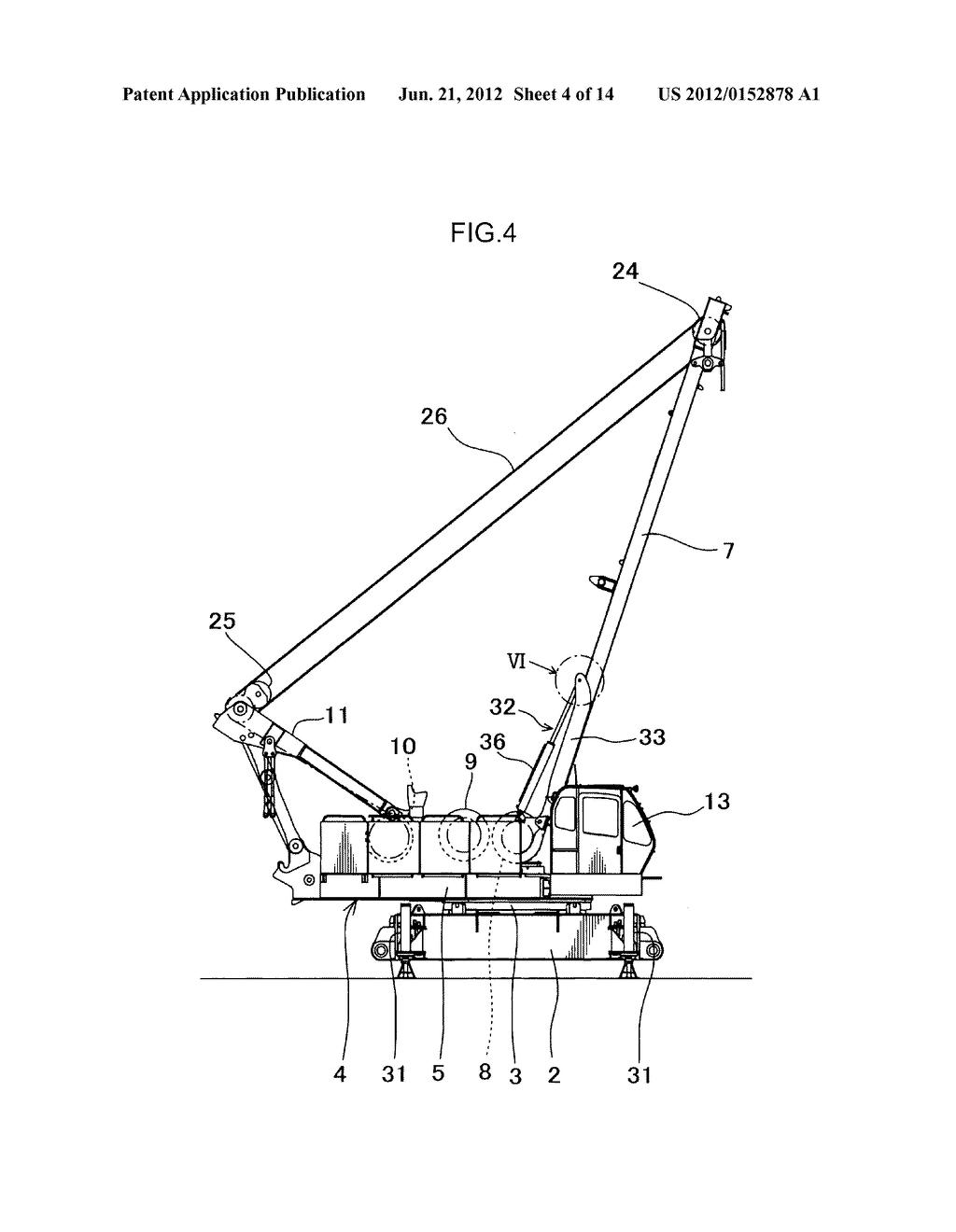 hight resolution of crane schematic