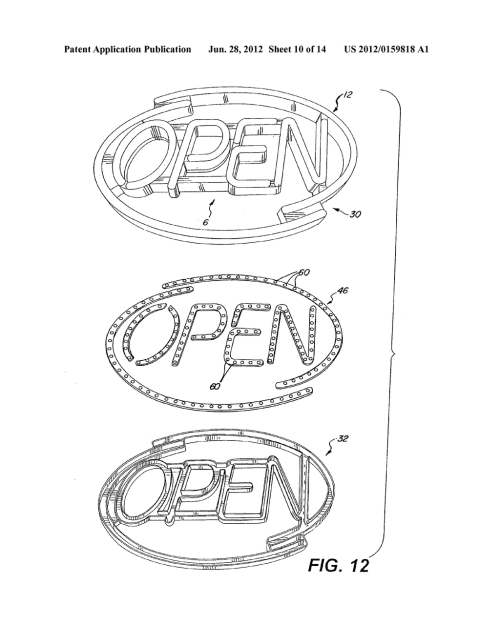 small resolution of method and apparatus for providing a simulated neon sign diagram schematic and image 11