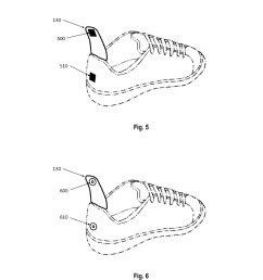 integrated shoehorn adapted for a shoe diagram schematic and image 04 [ 1024 x 1320 Pixel ]