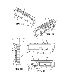 modifiable upper receiver for m 16 ar15 type firearm in particular rh patentsencyclopedia com ar 15 [ 1024 x 1320 Pixel ]
