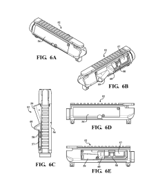 modifiable upper receiver for m 16 ar15 type firearm in particular ar 15 lower receiver exploded view ar 15 upper diagram [ 1024 x 1320 Pixel ]