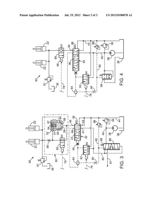 small resolution of valve control valve circuit for operating a single acting hydraulic cylinder diagram schematic and image 03