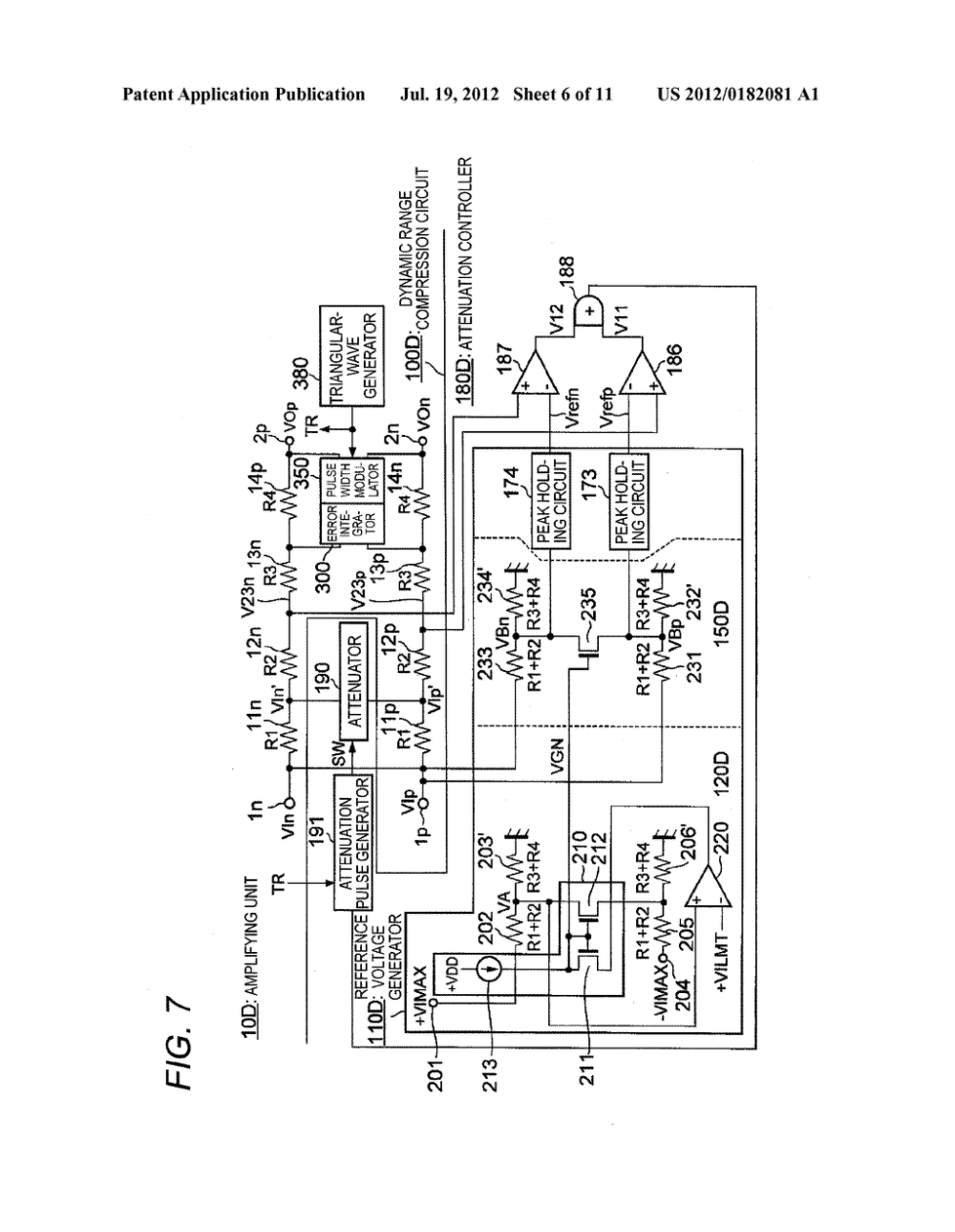 medium resolution of dynamic range compression circuit and class d amplifier diagram schematic and image 07