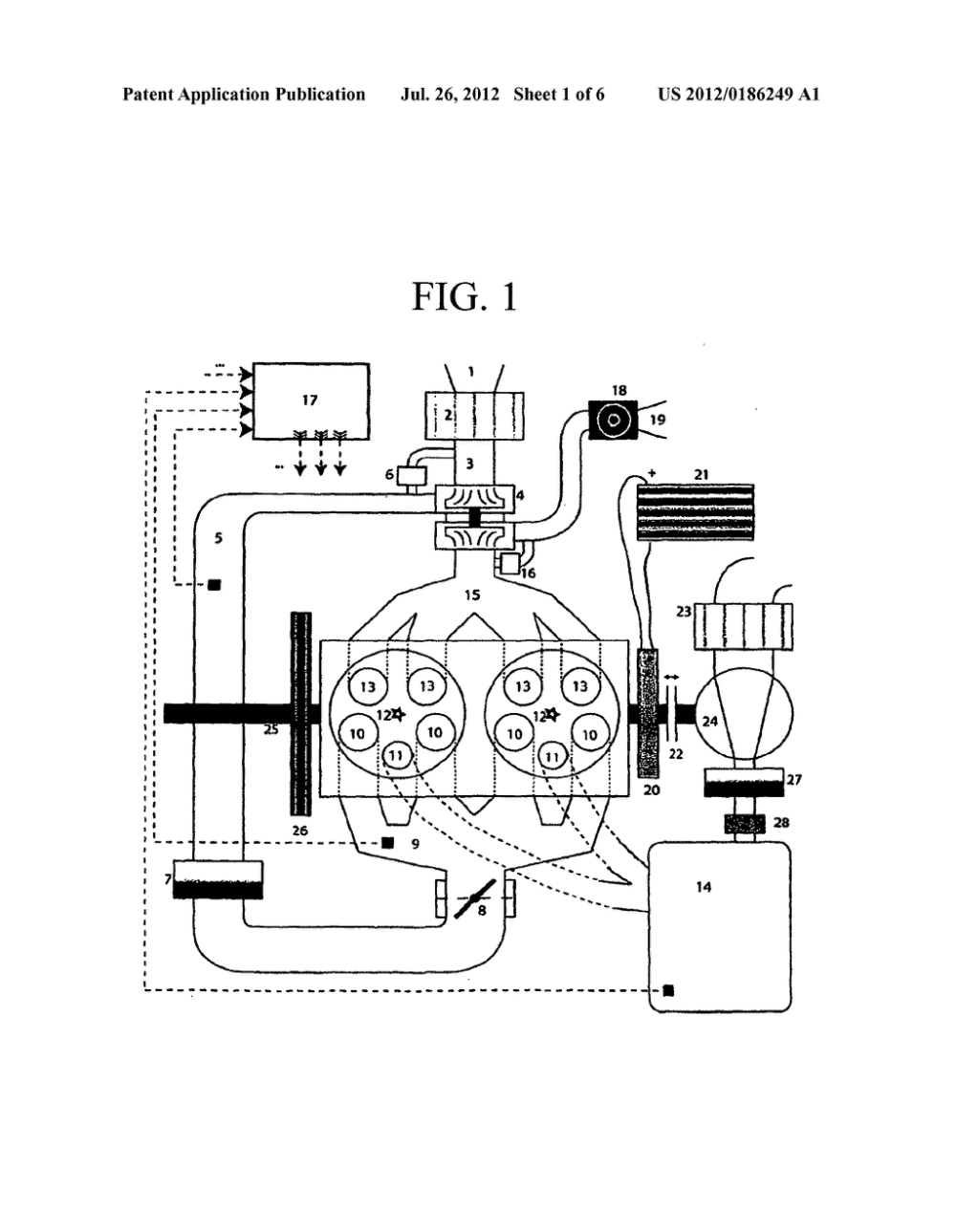 medium resolution of turbocharged reciprocating piston engine having a connected pressure tank for bridging turbo lag and method for operating said engine diagram schematic