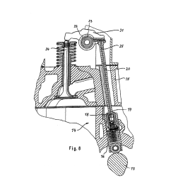oscillating lever in a valve train of an internal combustion engine diagram schematic and image 04 [ 1024 x 1320 Pixel ]