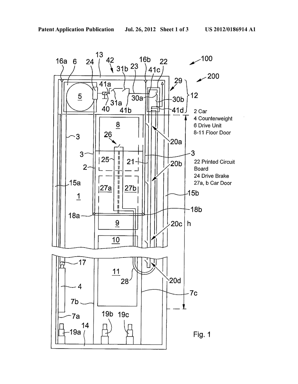hight resolution of safety circuit in an elevator system diagram schematic and image 02 elevator circuit diagram elevator circuit diagram more