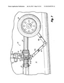 Steering collar locking mechanism for retractable aircraft