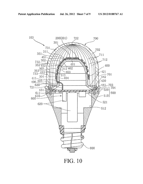 small resolution of led light bulb diagram schematic and image 08 light bulb parts labeled light bulb schematic