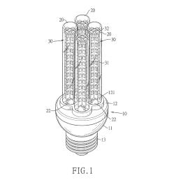 multi tubular led light bulb diagram schematic and image 02 [ 1024 x 1320 Pixel ]