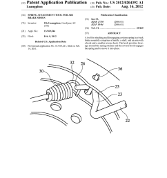 spring attachment tool for air brake shoes diagram schematic and image 01 [ 1024 x 1320 Pixel ]