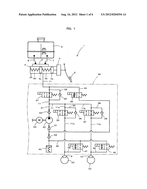 small resolution of master cylinder hydraulic fluid flow control valve master cylinder provided with the master cylinder hydraulic fluid flow control valve and brake device