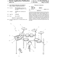electronic drum kit and module for a tablet computing deviceelectronic drum kit and module for a [ 1024 x 1320 Pixel ]
