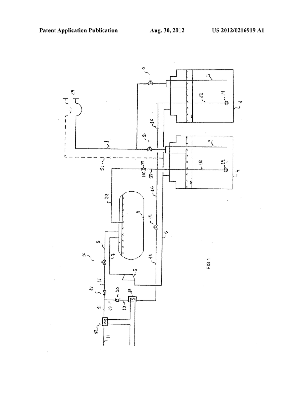 medium resolution of lng fuel tank system for at least one gas engine used for ship propulsion diagram schematic and image 02