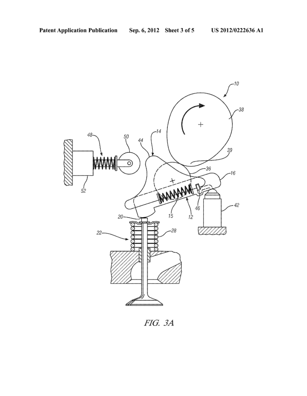 medium resolution of variable valve actuation mechanism for overhead cam engines with an oscillating sliding follower diagram schematic and image 04