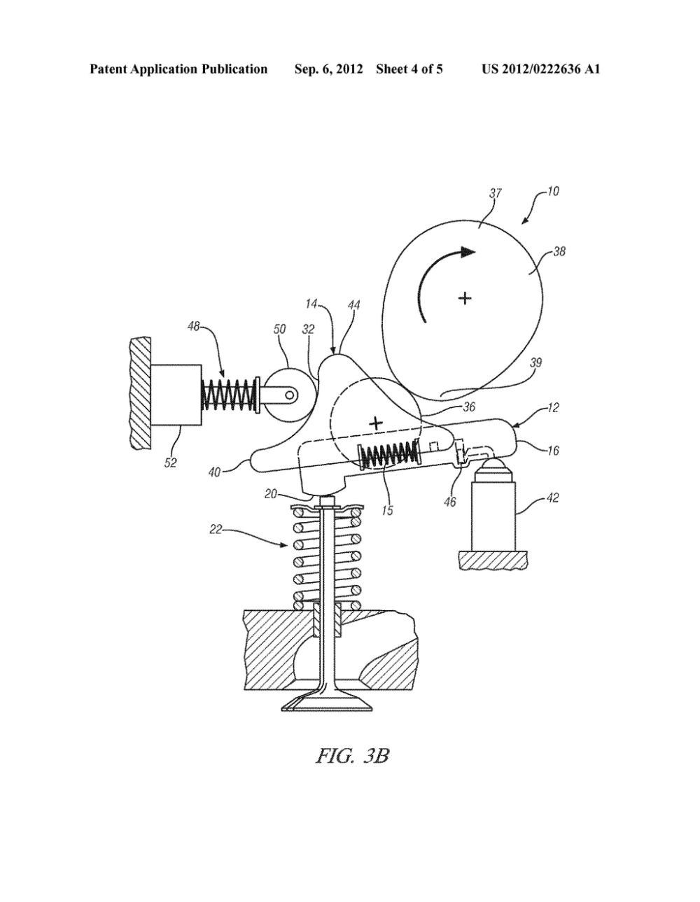 medium resolution of variable valve actuation mechanism for overhead cam engines with an oscillating sliding follower diagram schematic and image 05