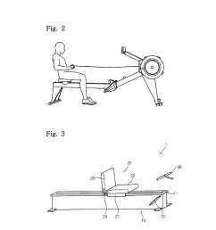 rowing machine exercise assisting device diagram schematic and image 03 [ 1024 x 1320 Pixel ]