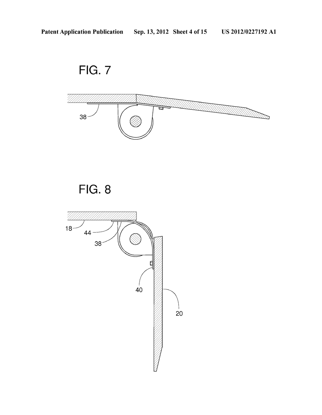 hight resolution of seal for dock leveler lip hinge diagram schematic and image 05